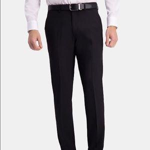 Haggar Men's Black Dress Pants